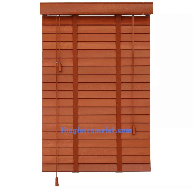 Mành cửa gỗ