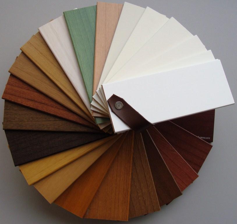 Mẫu Màu rèm sáo gỗ